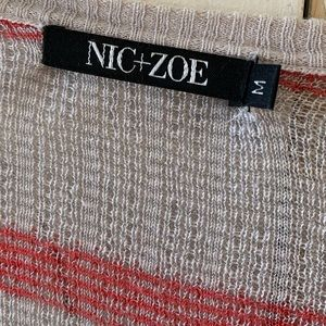 NIC+ZOE Sweaters - Nic + Zoe open front sweater Size Small